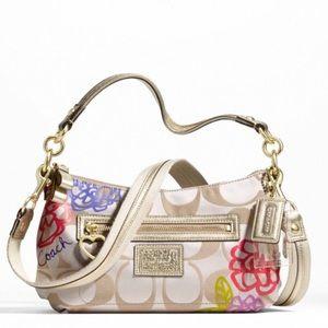 COACH Poppy Daisy Shoulder Bag F20761
